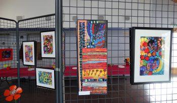 Exposition d'Art thérapie du Jarezio